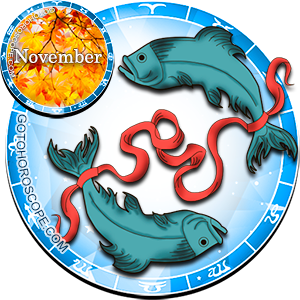 2013 November Horoscope Pisces for the Snake Year