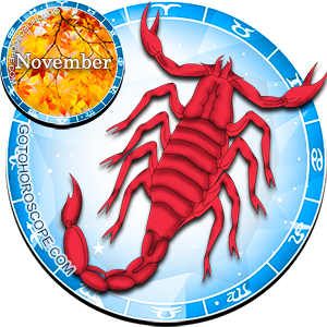 Monthly November 2013 Horoscope for Scorpio
