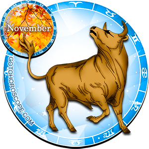 Monthly November 2014 Horoscope for Taurus