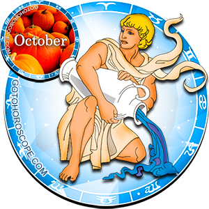 Monthly October 2013 Horoscope for Aquarius