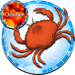 Monthly October 2012 Horoscope for Cancer