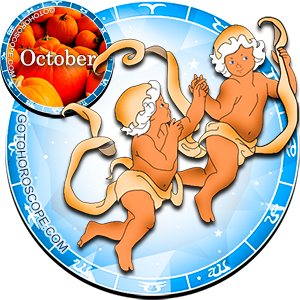 Monthly October 2015 Horoscope for Gemini