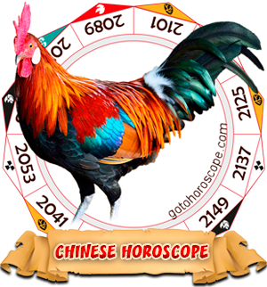 2016 Chinese Horoscope Rooster for the Monkey Year