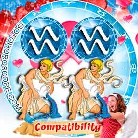 Aquarius and Aquarius Compatibility in Love