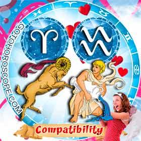 Aries and Aquarius Compatibility in Love