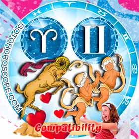 Aries and Gemini Compatibility in Love