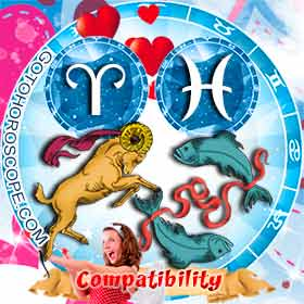 Aries and Pisces Compatibility in Love