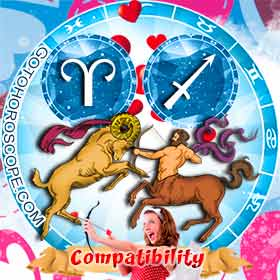 Aries and Sagittarius Compatibility in Love