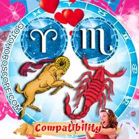 Aries and Scorpio Compatibility in Love