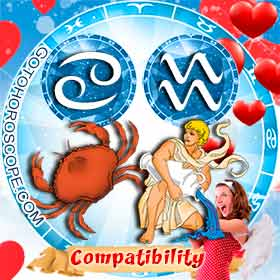 Cancer and Aquarius Compatibility in Love