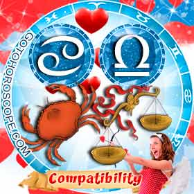 Cancer and Libra Compatibility in Love
