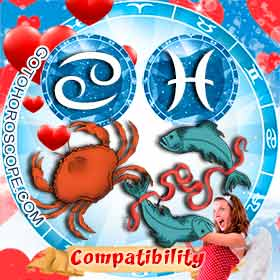 Cancer and Pisces Compatibility in Love
