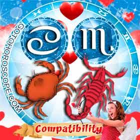 Cancer and Scorpio Compatibility in Love