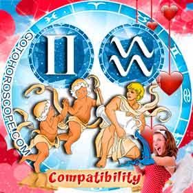 Gemini and Aquarius Compatibility in Love