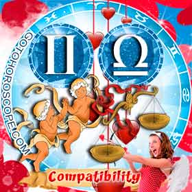 Gemini and Libra Compatibility in Love