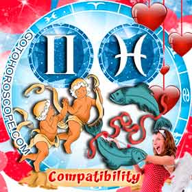Gemini and Pisces Compatibility in Love