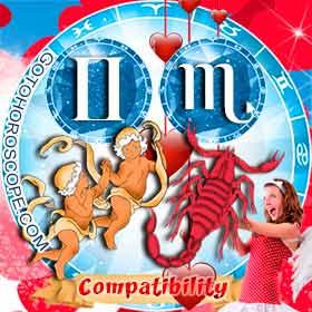 Gemini and Scorpio Compatibility in Love