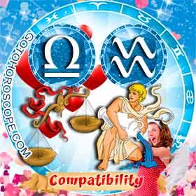 Libra and Aquarius Compatibility in Love