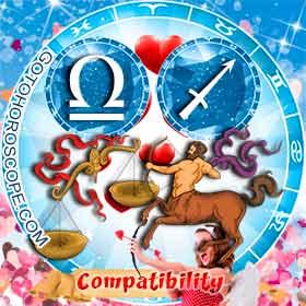 Libra and Sagittarius Compatibility in Love