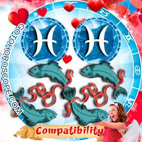 Pisces and Pisces Compatibility in Love