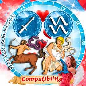 Sagittarius and Aquarius Compatibility in Love