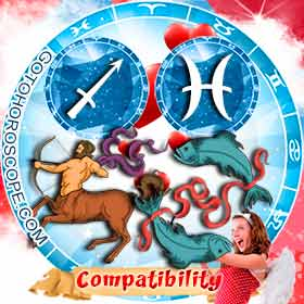 Sagittarius and Pisces Compatibility in Love