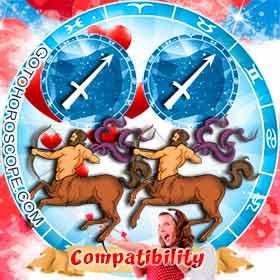 Sagittarius and Sagittarius Compatibility in Love