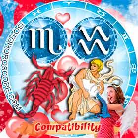Scorpio and Aquarius Compatibility in Love