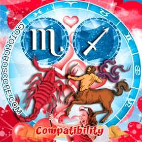Scorpio and Sagittarius Compatibility in Love