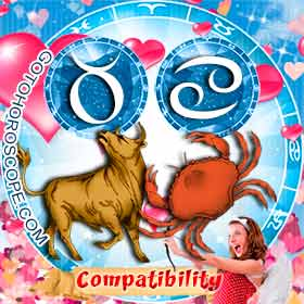 Taurus and Cancer Compatibility in Love