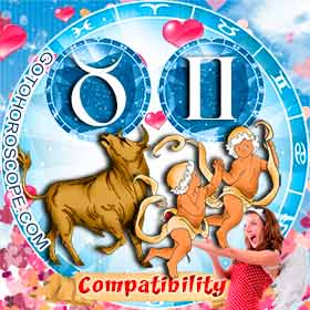 Taurus and Gemini Compatibility in Love