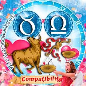 Taurus and Libra Compatibility in Love