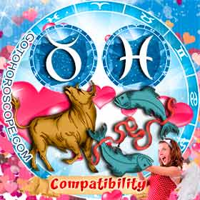 Taurus and Pisces Compatibility in Love