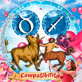 Taurus and Sagittarius Compatibility in Love