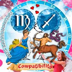 Virgo and Sagittarius Compatibility in Love