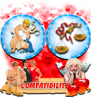 Love Compatibility Horoscope for Combination of Aquarius and Libra Zodiac signs