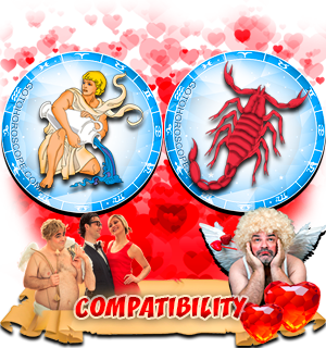 Love Compatibility Horoscope for Combination of Aquarius and Scorpio Zodiac signs