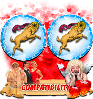Love Compatibility Horoscope for Combination of Aries and Aries Zodiac signs
