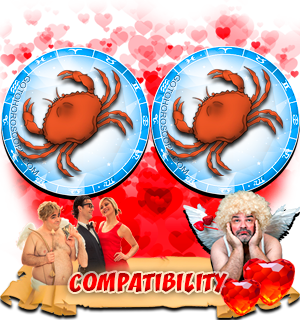 Love Compatibility Horoscope for Combination of Cancer and Cancer Zodiac signs