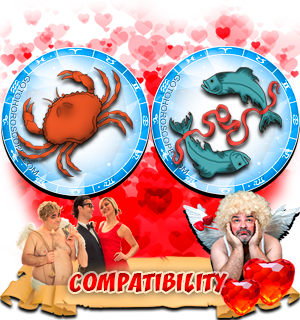 Love Compatibility Horoscope for Combination of Cancer and Pisces Zodiac signs