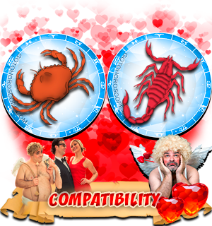 Love Compatibility Horoscope for Combination of Cancer and Scorpio Zodiac signs