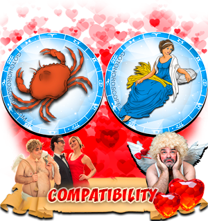 Love Compatibility Horoscope for Combination of Cancer and Virgo Zodiac signs