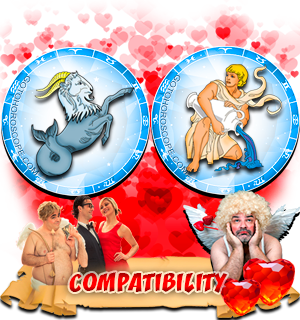 Love Compatibility Horoscope for Combination of Capricorn and Aquarius Zodiac signs