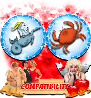 Love Compatibility Horoscope for Combination of Capricorn and Cancer Zodiac signs