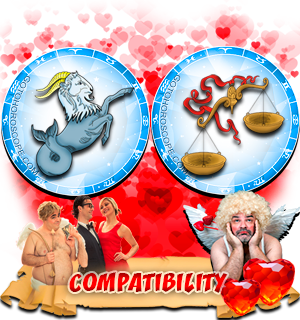 Love Compatibility Horoscope for Combination of Capricorn and Libra Zodiac signs