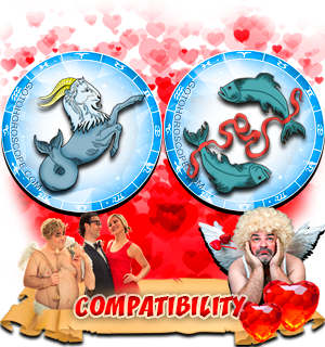 Love Compatibility Horoscope for Combination of Capricorn and Pisces Zodiac signs