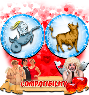 Love Compatibility Horoscope for Combination of Capricorn and Taurus Zodiac signs