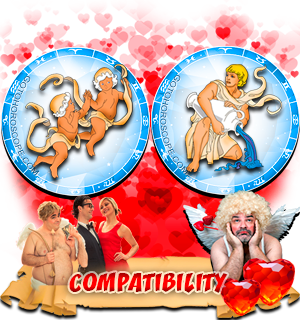 Love Compatibility Horoscope for Combination of Gemini and Aquarius Zodiac signs