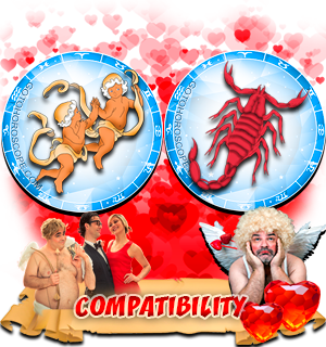 Love Compatibility Horoscope for Combination of Gemini and Scorpio Zodiac signs