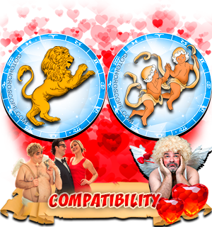 Love Compatibility Horoscope for Combination of Leo and Gemini Zodiac signs